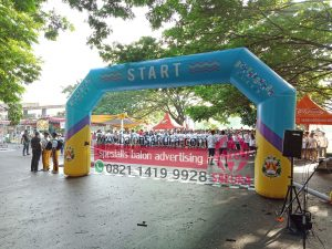 balon gapura color run