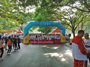 balon gate bhayangkara color run