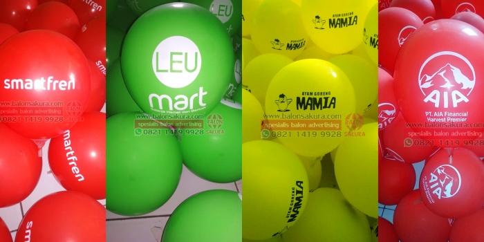Balloon Printing / Produksi Balon Sablon Murah Di Balon Sakura