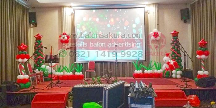 Balon Dekor Natal & Tahun Baru | Balon Sakura