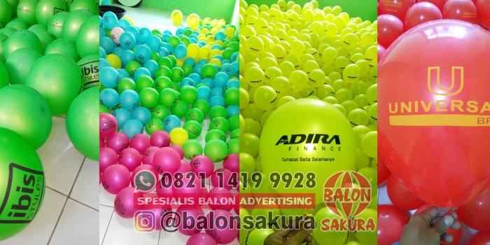 Jual Balon Print Surabaya / Balon Sablon Murah Jawa Timuran