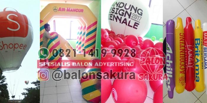 Balon Promosi Surabaya / Balon Iklan Murah Di Jawa Timur