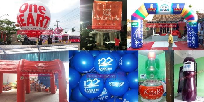 Balon Promosi Jogja | Rental Balon Udara Iklan Area Daerah Istimewa Yogyakarta & Jawa Tengah
