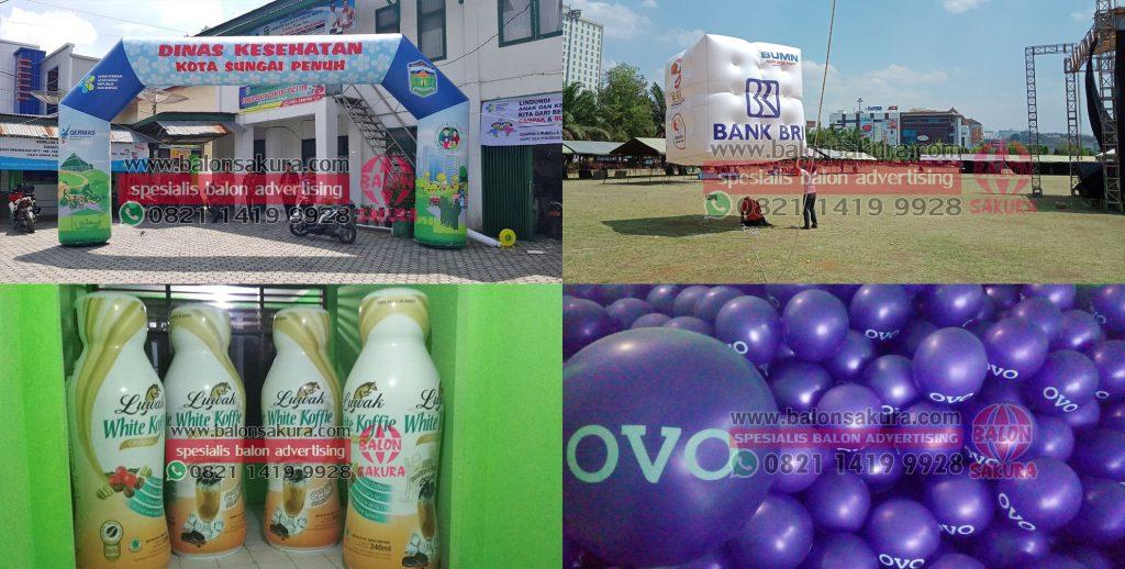 balon promosi padang