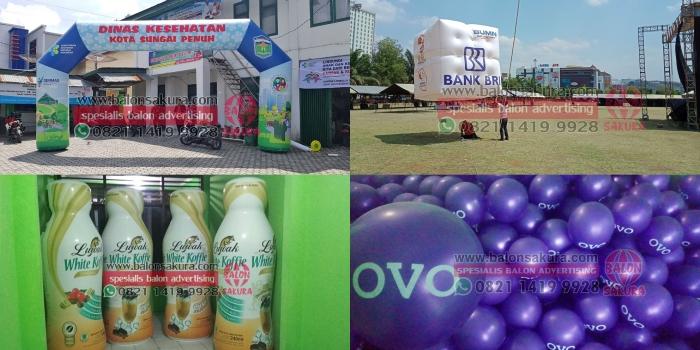 Balon Promosi Padang / Balon Iklan Di Padang Pulau Sumatera