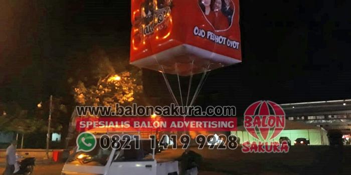 Balon Udara Jambore Komunitas Juang PDI Perjuangan