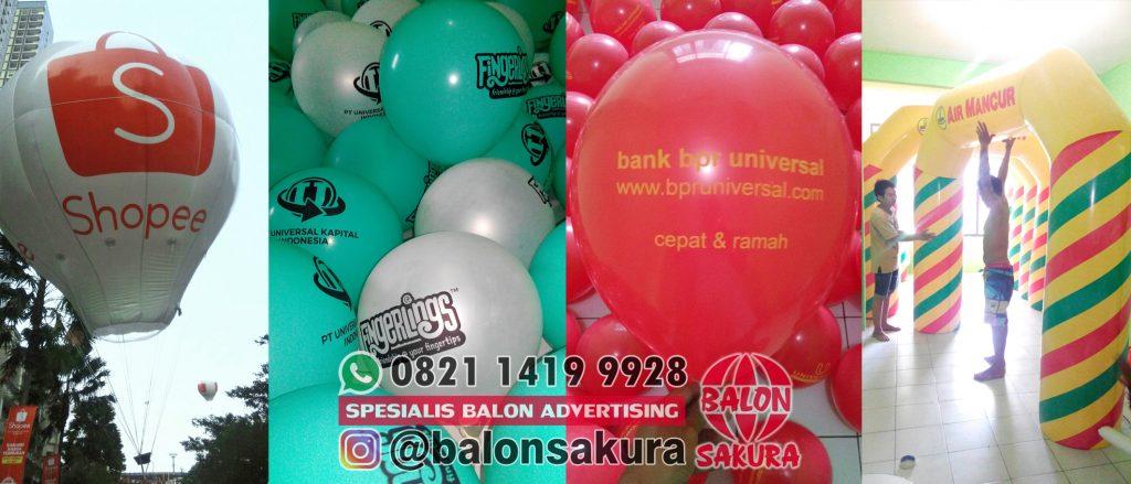 balon sablon tegal & balon promosi