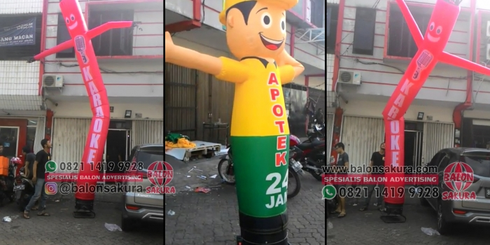 Balon Menari / Balon Joget Atau Balon Sky Dancer