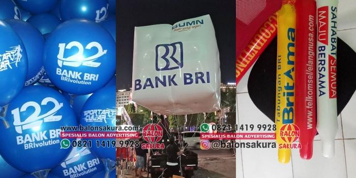 Balon BRI Balon Sablon, Gate, Dekorasi DLL | Balon Sakura