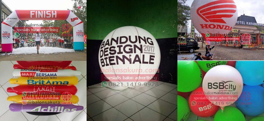 balon promosi bandung