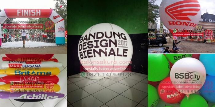 Balon Promosi Bandung / Jual & Sewa Balon Iklan Promosi Area Bandung di Balon Sakura