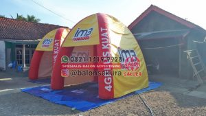 balon tenda indosat 4G