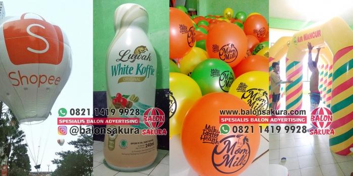 Balon Promosi Samarinda / Balon Iklan Area Kalimantan