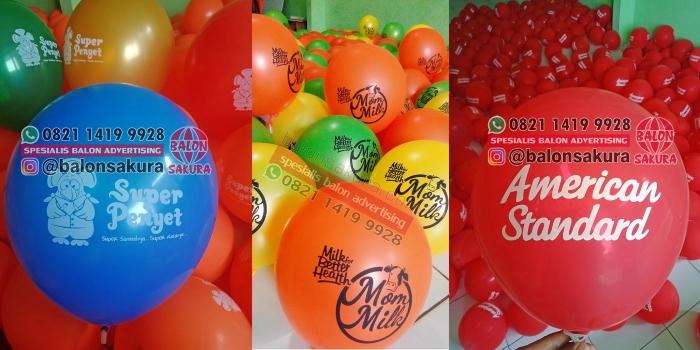 Jual Balon Sablon Balikpapan, Samarinda, Banjarmasin, Pontianak Kalimantan