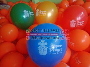 balon sablon super penyet
