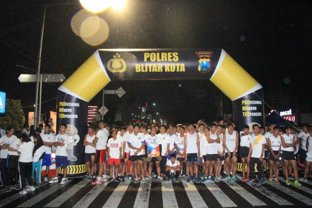 balon gate polres night fun run