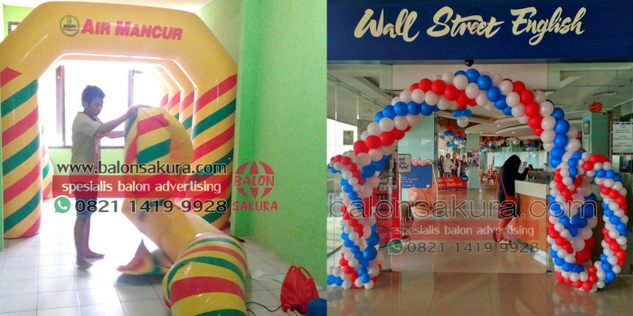 SEDIA BALLOON GATE DEKORASI & BALON GATE START FINISH