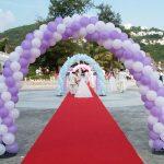 balon dekorasi wedding