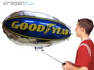 balon zeppelin remote