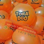 sablon balon tora duo