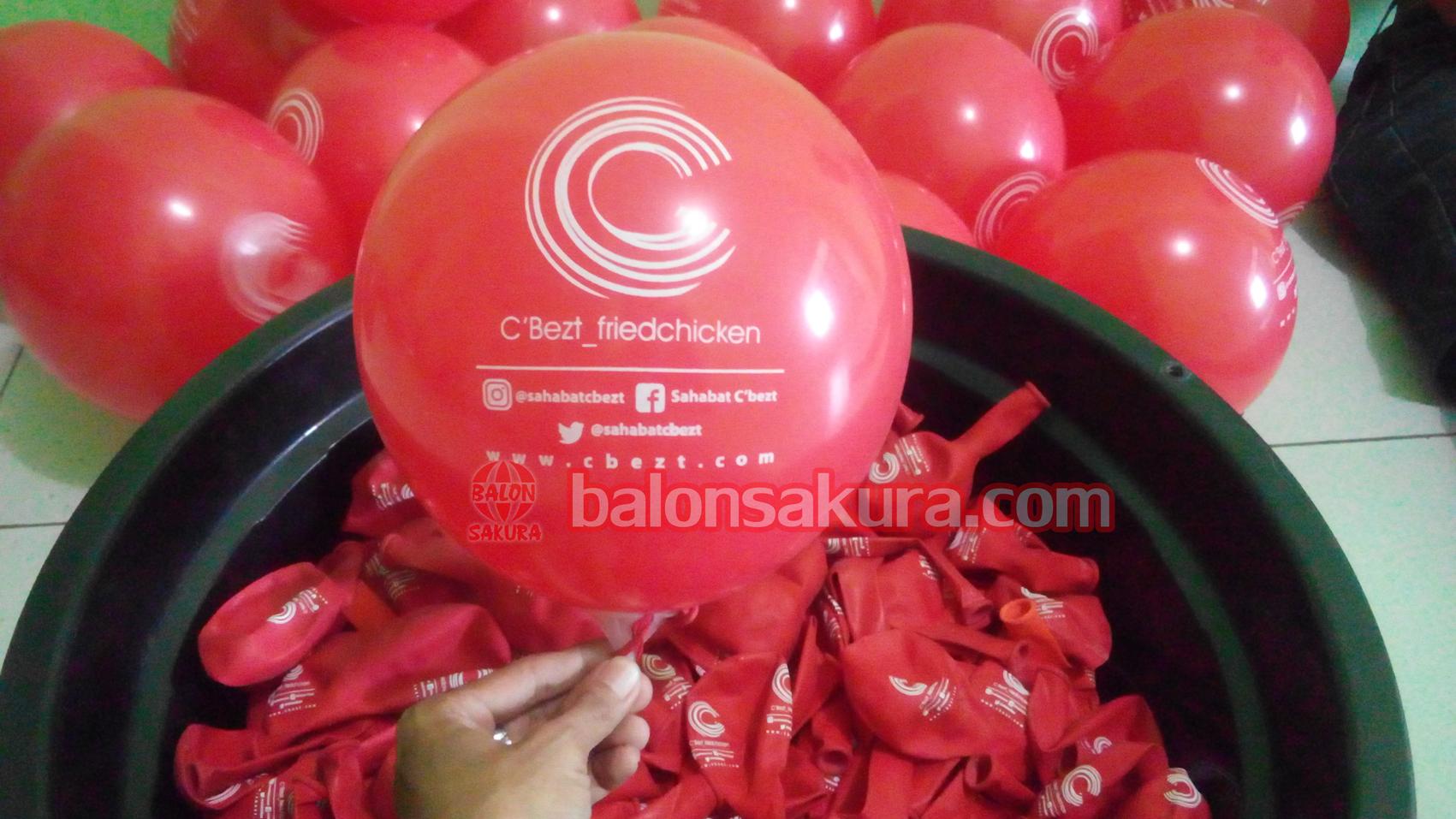 balon sablon logo