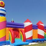 istana balon ukuran besar