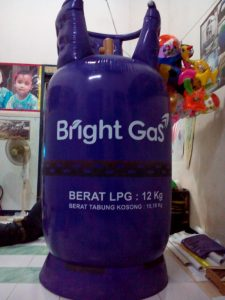 balon tabung gas