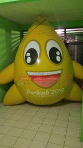 balon karakter porkab