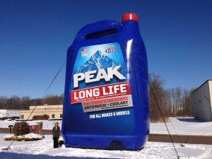 balon botol peak
