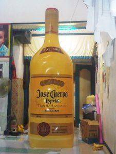 balon botol tequila