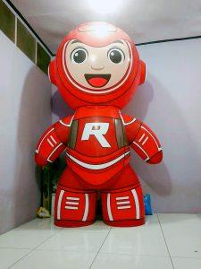 balon karakter robot