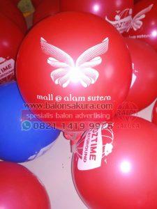 sablon balon mall alam sutera