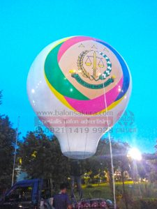 balon udara promosi kejaksaan
