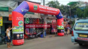 balon gate dinas kesehatan sumatera barat