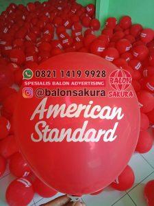 balon sablon american standard